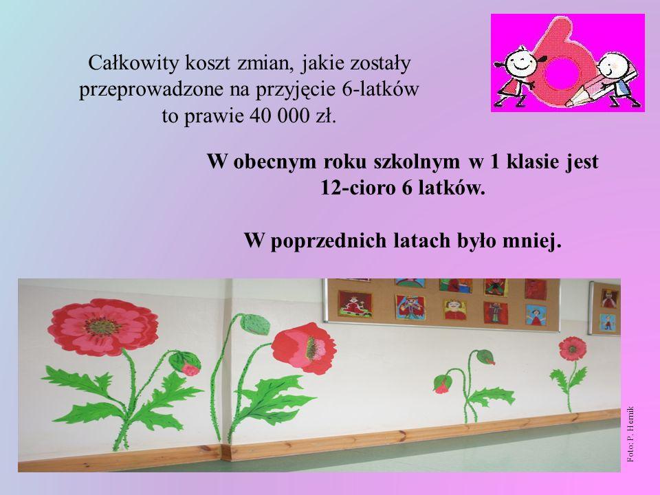 Foto: P. Hernik Aktualnie sale oddziałów przedszkolnych wyglądają tak: