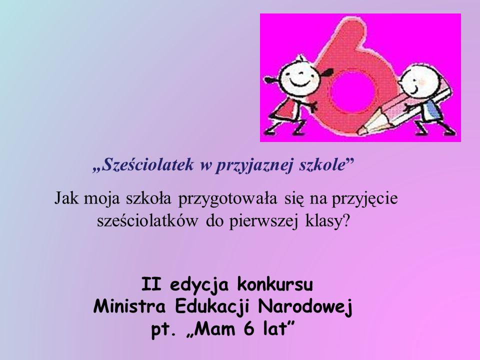 Rada Rodziców Szkoły Podstawowej nr 97 im. Leona Kruczkowskiego w Warszawie ul. Spiska 1 Moja szkoła - szkołą dla sześciolatka!
