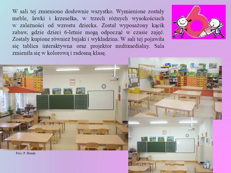 Foto: archiwum szkolne Nasza szkoła, aby sprostać bardzo surowym wymaganiom Ministerstwa Edukacji Narodowej podjęła wszelkie starania, żeby 6-letnie dzieci czuły się dobrze i komfortowo.