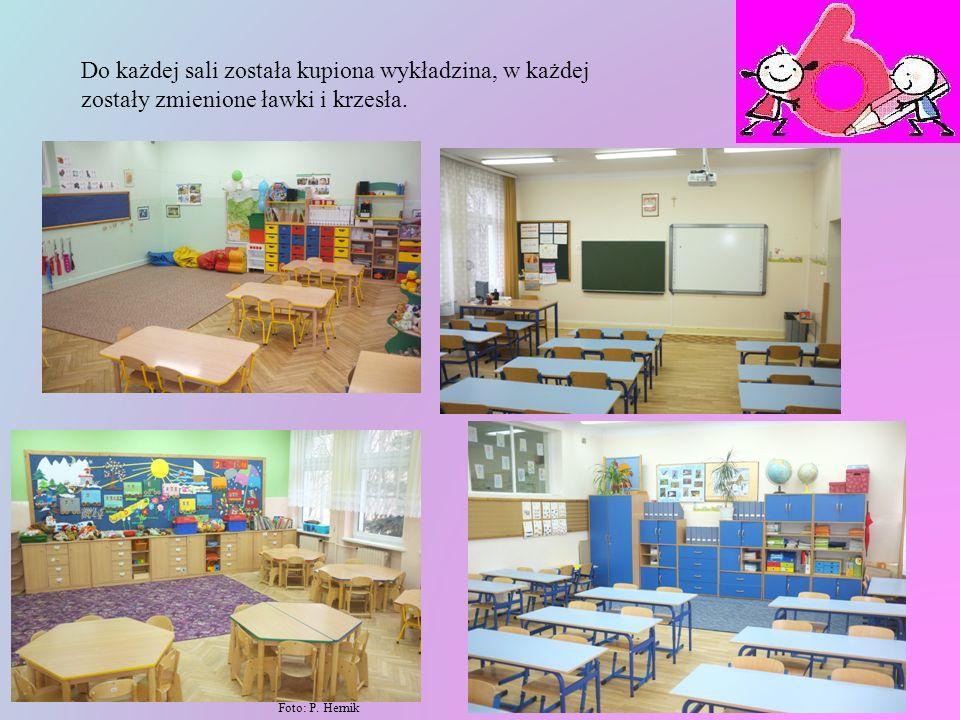 Dzieci w tej sali czują się bezpiecznie i komfortowo. Ale nie tylko ta sala uległa zmianie. Wszystkie sale, które znajdują się na drugim piętrze zosta
