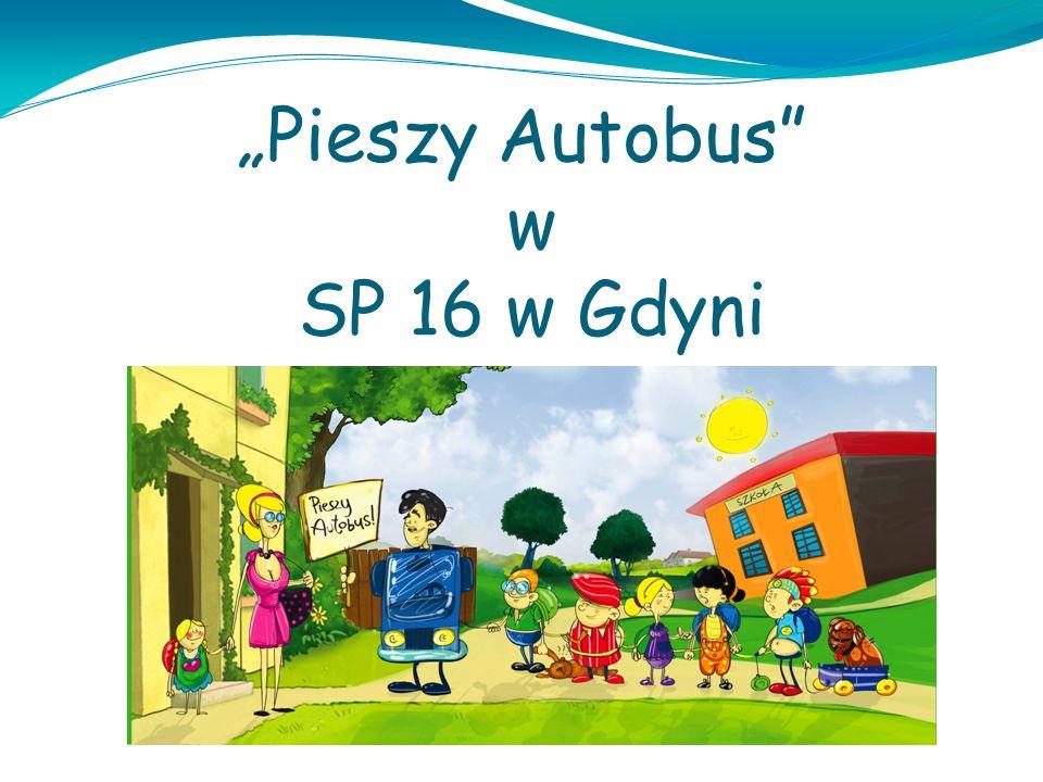 Pieszy Autobus w SP 16 w Gdyni
