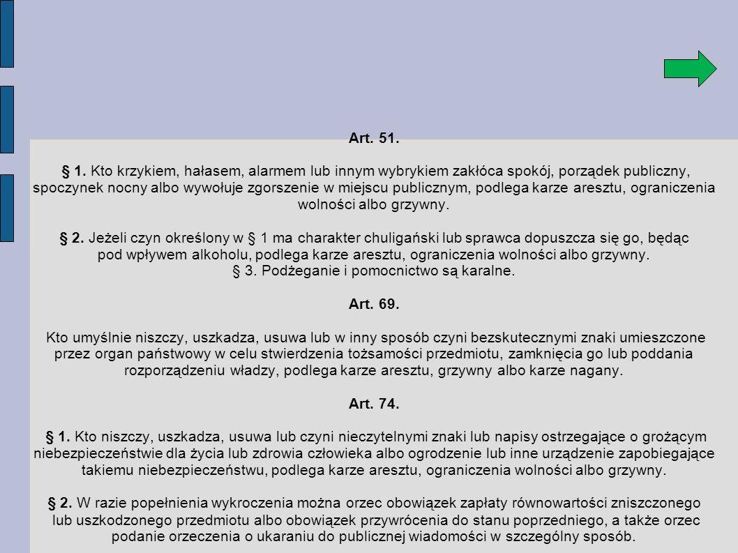 Art.51. § 1.