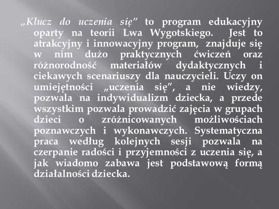 Klucz do uczenia się to program edukacyjny oparty na teorii Lwa Wygotskiego.