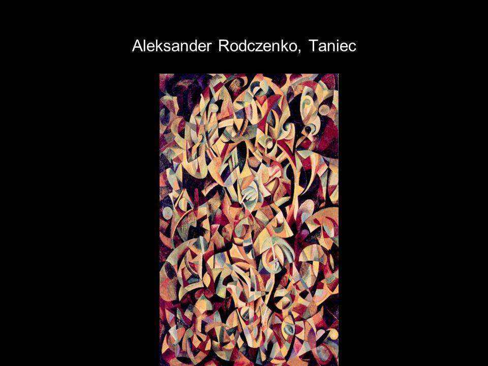 Aleksander Rodczenko, Taniec