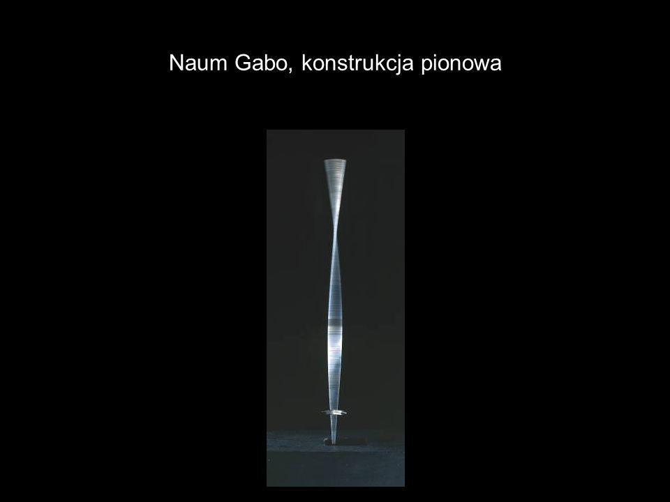 Naum Gabo, konstrukcja pionowa