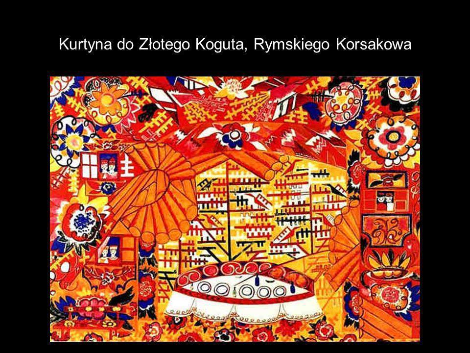 Kurtyna do Złotego Koguta, Rymskiego Korsakowa