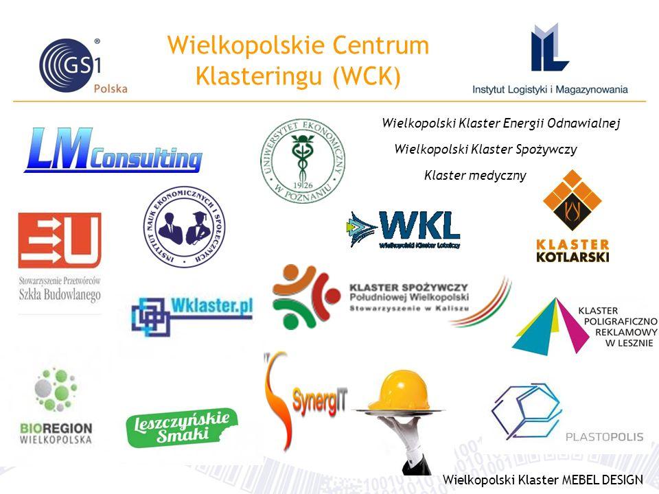 Wielkopolskie Centrum Klasteringu (WCK) Wielkopolski Klaster Energii Odnawialnej Wielkopolski Klaster Spożywczy Klaster medyczny Wielkopolski Klaster MEBEL DESIGN