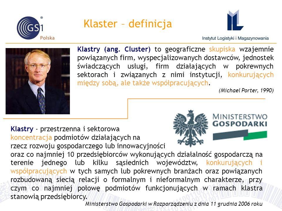 Klaster – definicja Klastry (ang.