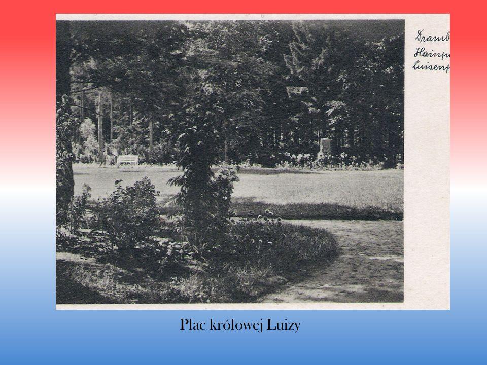 Pierwsze fragmenty parku urz ą dzono w latach 1865 – 1870.