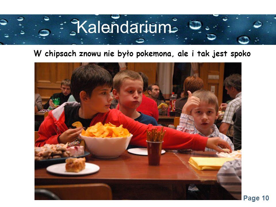 Page 10 Kalendarium W chipsach znowu nie było pokemona, ale i tak jest spoko