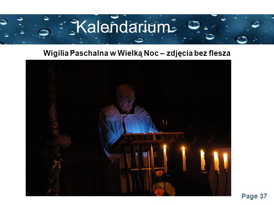 Page 37 Kalendarium Wigilia Paschalna w Wielką Noc – zdjęcia bez flesza