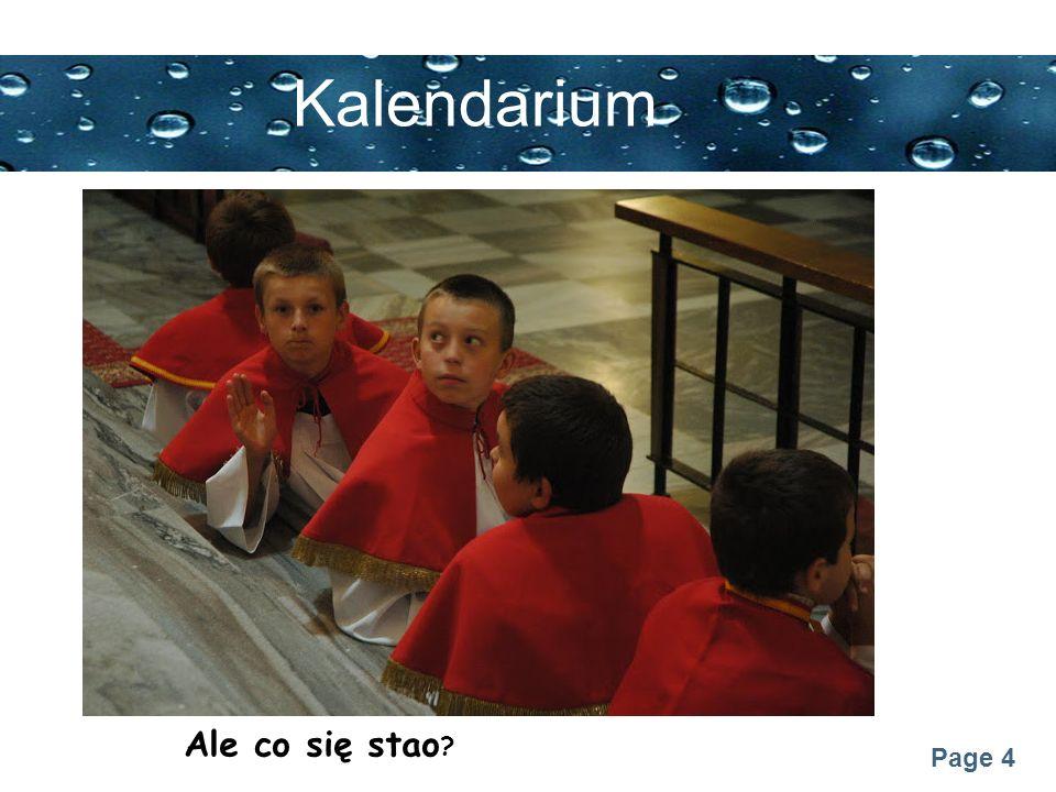 Page 25 Kalendarium Błogosławieństwo na kandydatów i choralistów (25.11.2012)