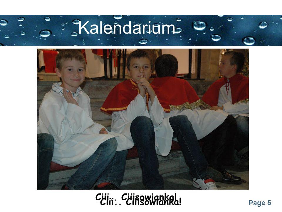 Page 26 Kalendarium Błogosławieństwo na kandydatów i choralistów (25.11.2012)