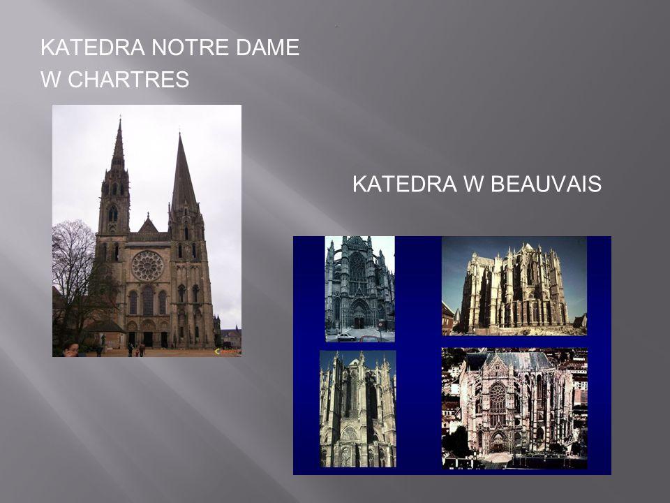 KATEDRA NOTRE DAME W PARYŻU.