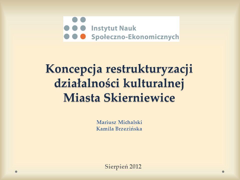 Struktura zatrudnienia NMOK (10) Struktura zatrudnienia NMOK (10) Odpowiada za komunikację w Nowym Miejskim Ośrodku Kultury, w tym za prowadzenie strony internetowej zintegrowanej z pracą innych instytucji kultury.