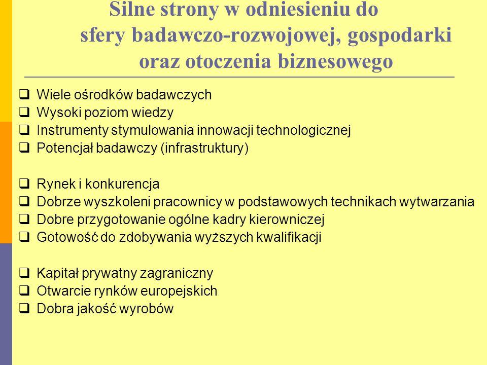 Strategiczne kierunki rozwoju technologii Prowadzenie prac badawczych nad technologią bezfozgenową poliwęglanu i jej wdrożenie w kraju Modernizacja technologii politlenku fenylu (PPO, PPE) i wdrożenie do produkcji wraz z wytwarzaniem półproduktów
