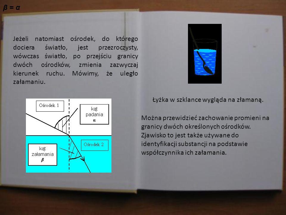 Jasiu w domu sprawdza materiał, który dostał od Pani Profesor. Jeżeli natomiast ośrodek, do którego dociera światło, jest przezroczysty, wówczas świat