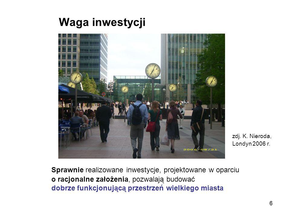 37 Wstępna analiza procesu inwestycyjnego wskazuje na trzy istotne zagadnienia, które winny objęte zostać działaniami regulacyjnymi: -jakość przestrzeni publicznej -bezpieczeństwo - ochrona własności