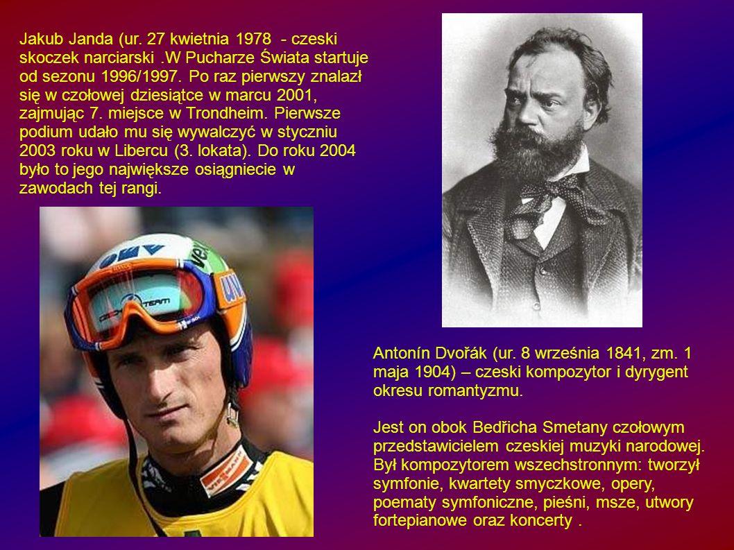 Antonín Dvořák (ur.8 września 1841, zm.