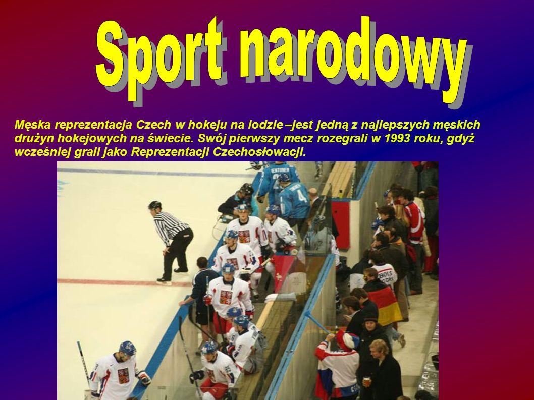 Męska reprezentacja Czech w hokeju na lodzie –jest jedną z najlepszych męskich drużyn hokejowych na świecie.