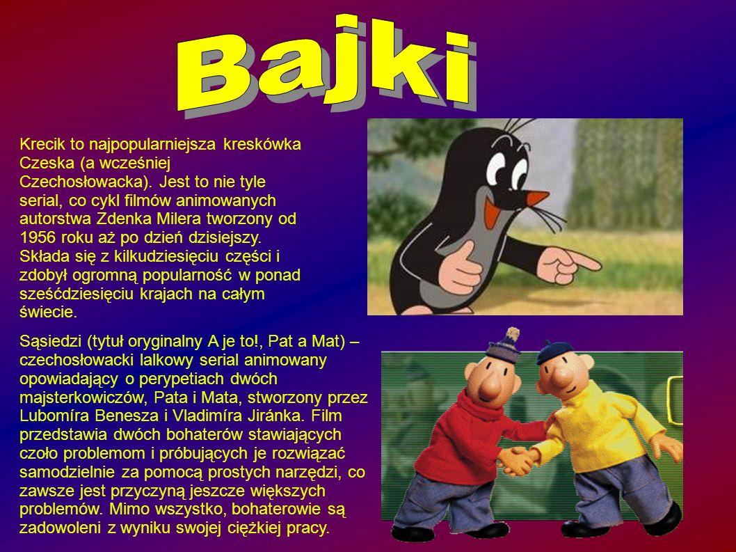 Krecik to najpopularniejsza kreskówka Czeska (a wcześniej Czechosłowacka).