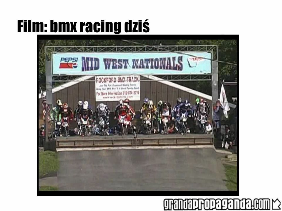Film: bmx racing dziś