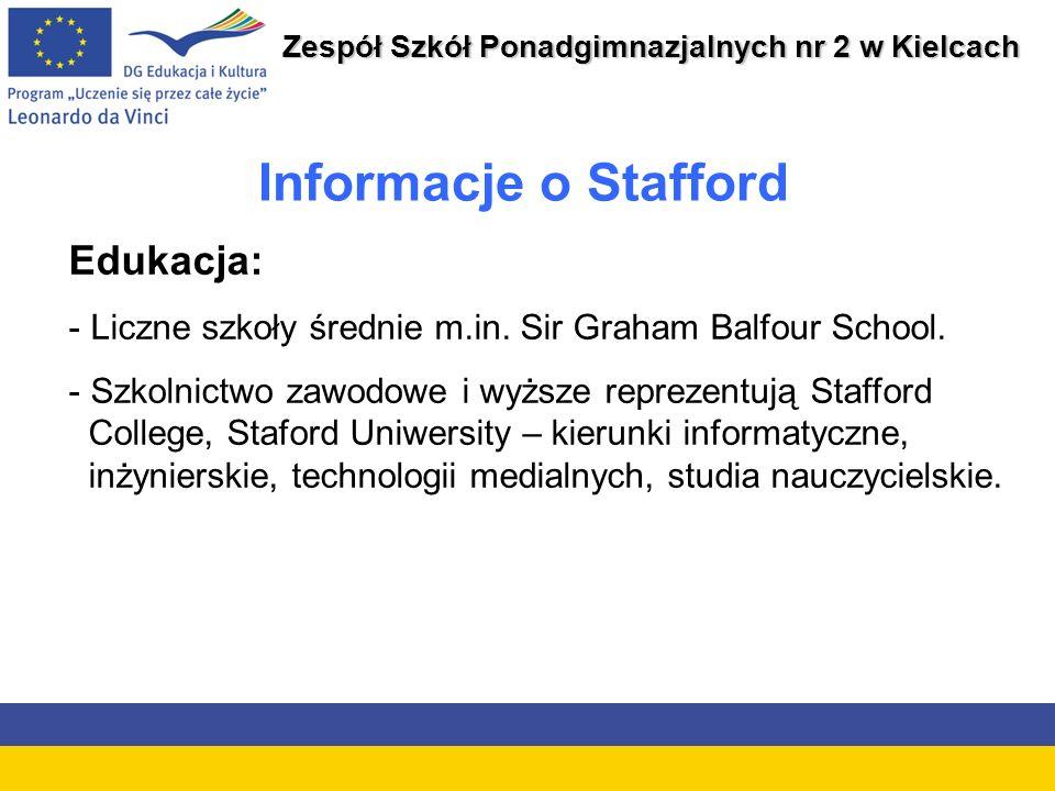 Zespół Szkół Ponadgimnazjalnych nr 2 w Kielcach System kształcenia brytyjskiego Szkoły publiczne są bezpłatne i finansowane przez rząd.