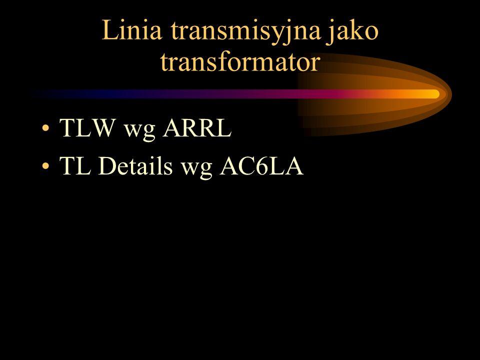 TLW wg ARRL TL Details wg AC6LA