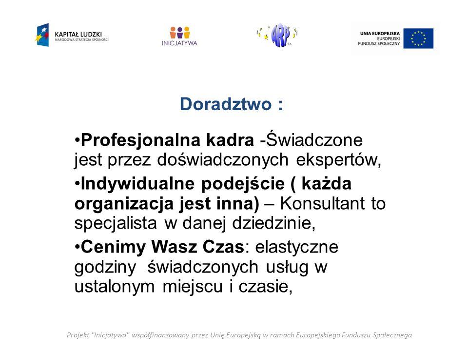 Doradztwo z zakresie pozyskiwania środków finansowych Pomoc w pozyskaniu grantów i dotacji z możliwych źródeł, w tym: -Urzędu Miasta, Starostwa, Urzędu Marszałkowskiego, Odpowiedniego Departamentu/ Ministerstwa, - z innych jak Fundusz Inicjatyw Obywatelskich( FIO), różego rodzaju Fundacji jak :Polsko Amerykańska Fundacja Wolności, Fundacja Bankowa im.
