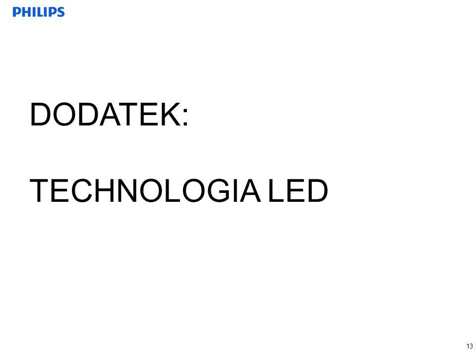 13 DODATEK: TECHNOLOGIA LED