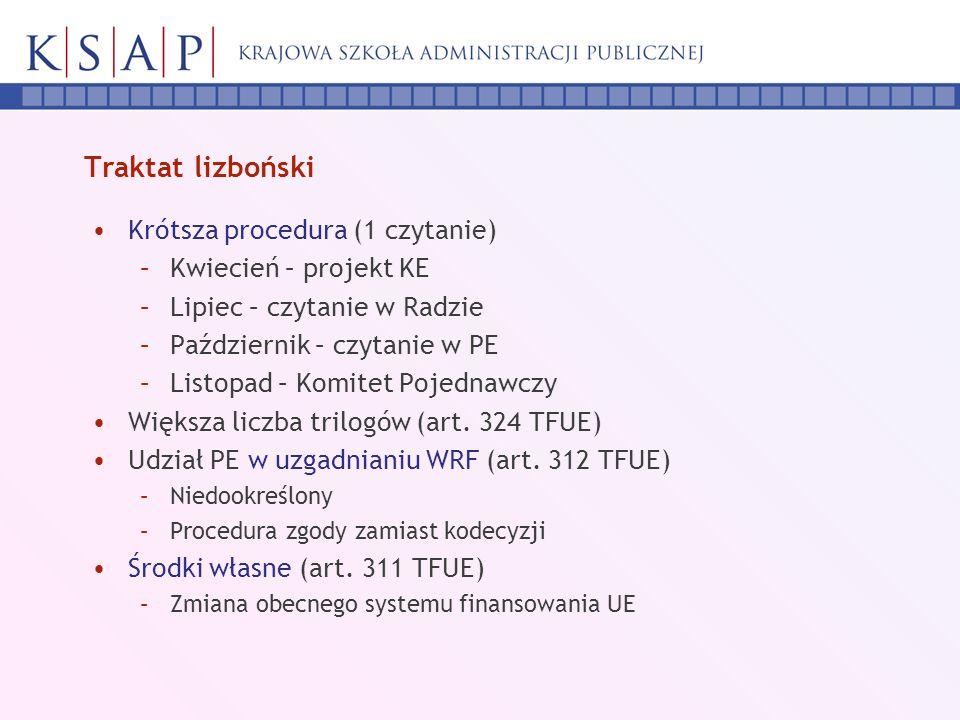 Negocjacje Projekt Komisji i stanowisko Parlamentu + ok.