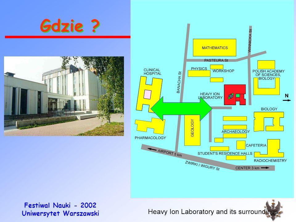Festiwal Nauki - 2002 Uniwersytet Warszawski Obrazy 3D