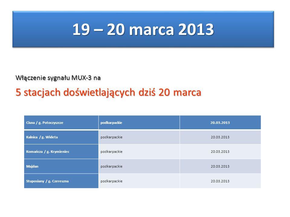 Cisna / g. Potoczyszczepodkarpackie20.03.2013 Kalnica / g.