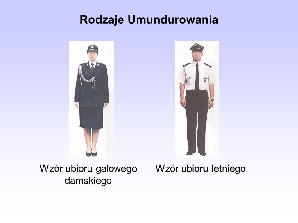 Rodzaje Umundurowania Wzór ubioru galowego damskiego Wzór ubioru letniego