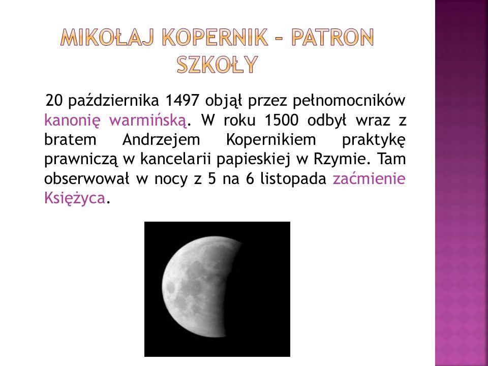 W Wiecznym Mieście dał serię prywatnych wykładów, podważających współczesne mu założenia matematyczne astronomii.