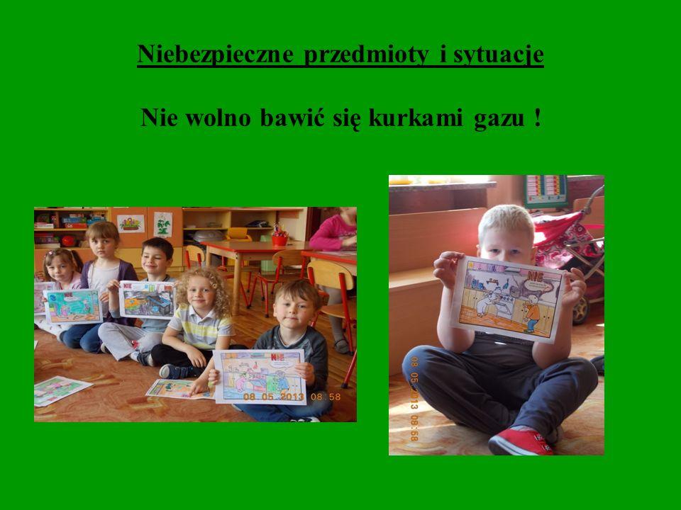 Dzieci z grupy integracyjnej Papużki wiedzą, jak być bezpiecznym.