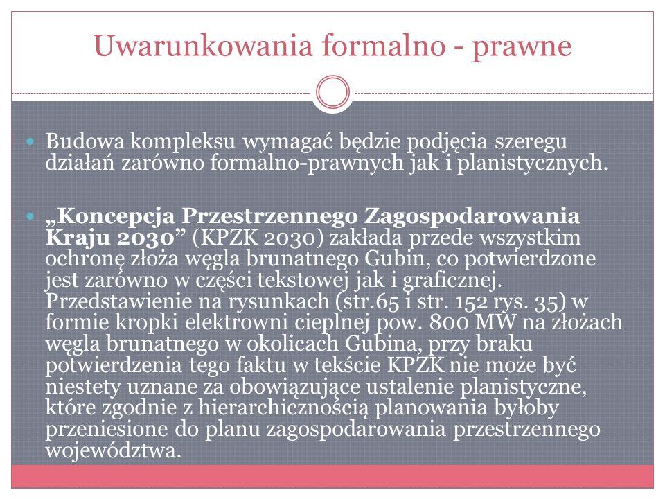 Dokumenty wspierające inwestycje (samorządy, samorządy gospodarcze, stowarzyszenia mieszkańców) 1) Deklaracja Gubińska, w sprawie poparcia inwestycji 2) List otwarty do premiera Donalda Tuska, w sprawie KPZK.