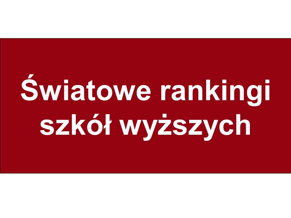Berlińskie zasady: Przedstawienie wyników rankingów 15.Należy jasno wytłumaczyć wszystkie uwarunkowania towarzyszące tworzeniu rankingów i zaproponować odbiorcom różne możliwości prezentacji rankingów.