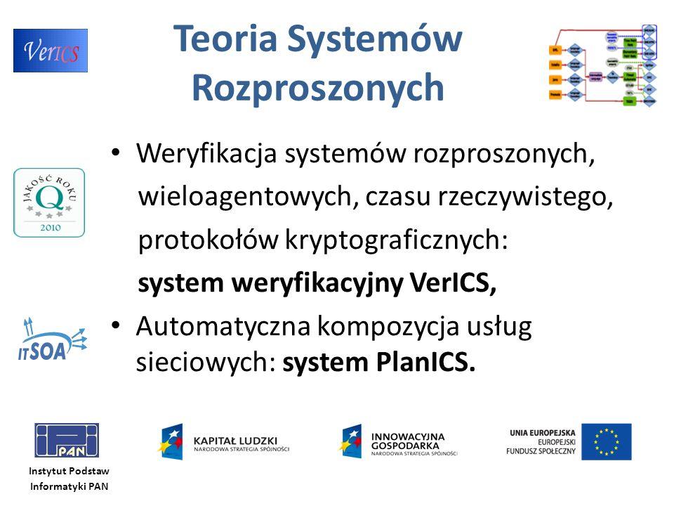 Teoria Systemów Rozproszonych Weryfikacja systemów rozproszonych, wieloagentowych, czasu rzeczywistego, protokołów kryptograficznych: system weryfikac