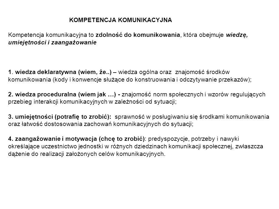 Cechy komunikacji sieciowej 6.