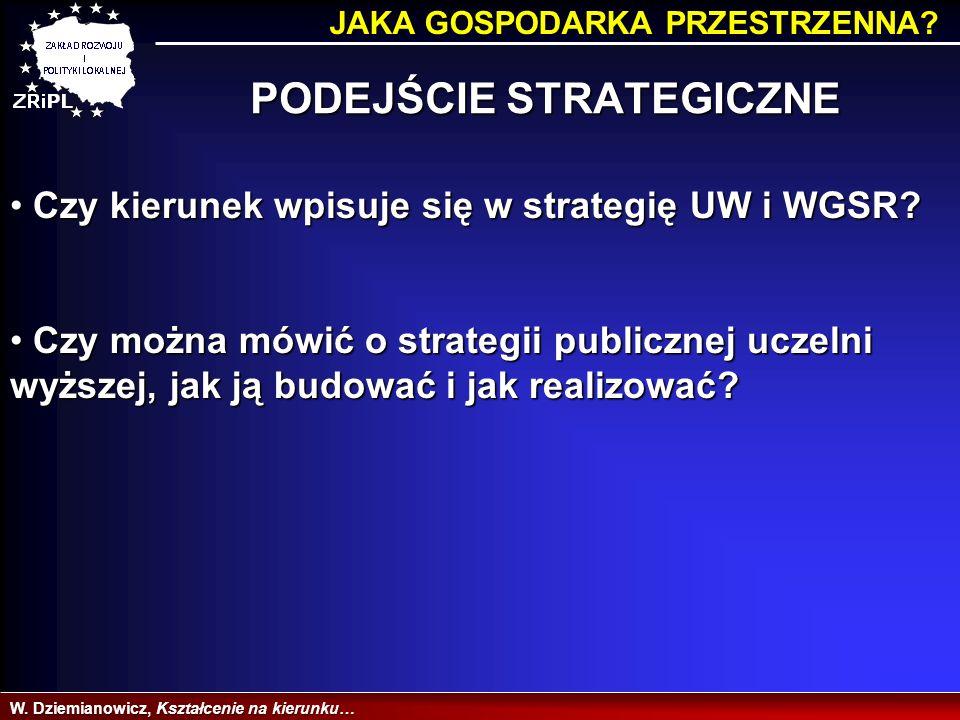 TRAFNOŚĆ WYBORU KIERUNKU W.