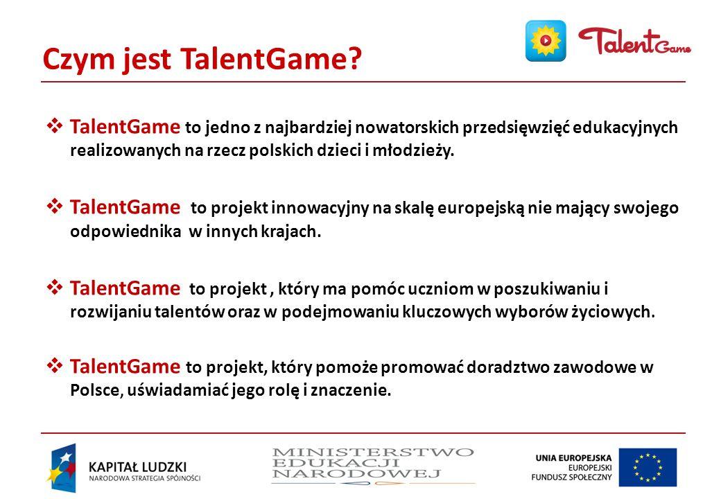 Czym jest TalentGame.