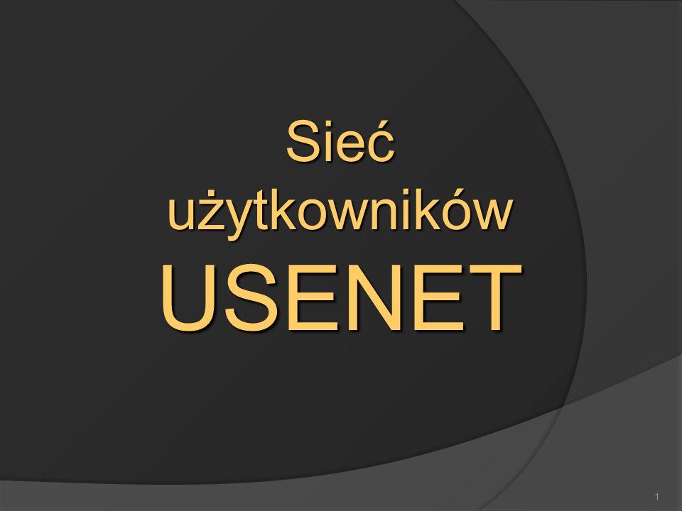 1 Sieć użytkowników USENET