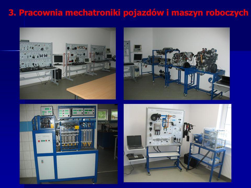 3. Pracownia mechatroniki pojazdów i maszyn roboczych