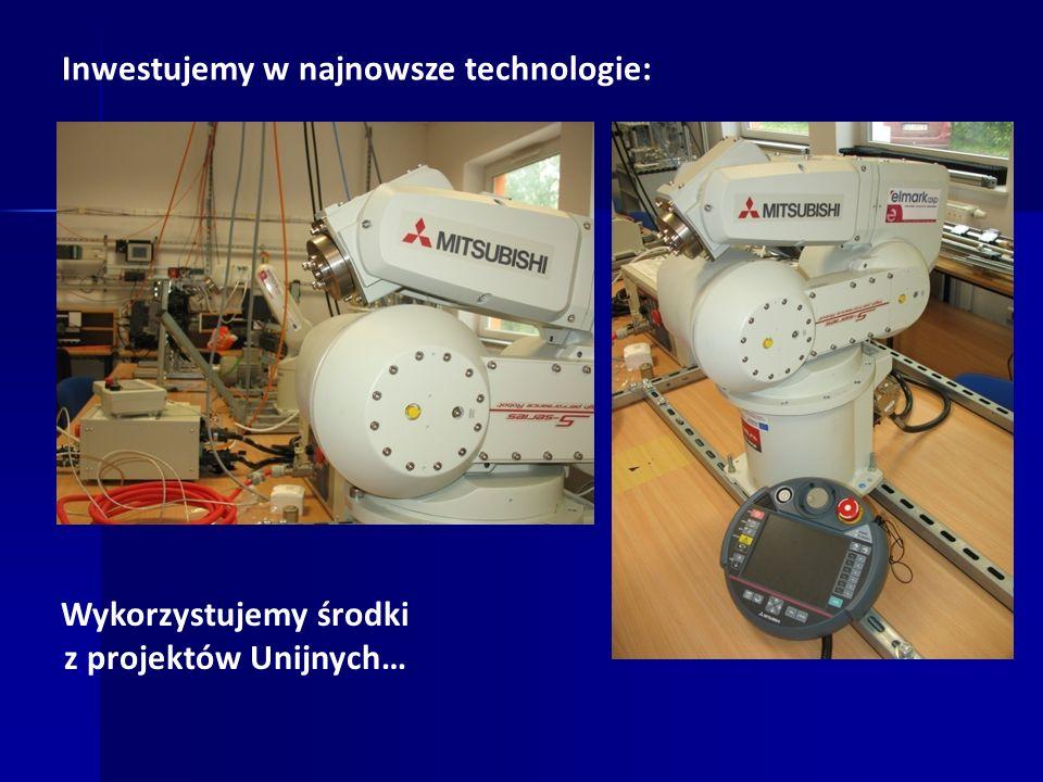 Inwestujemy w najnowsze technologie: Wykorzystujemy środki z projektów Unijnych…