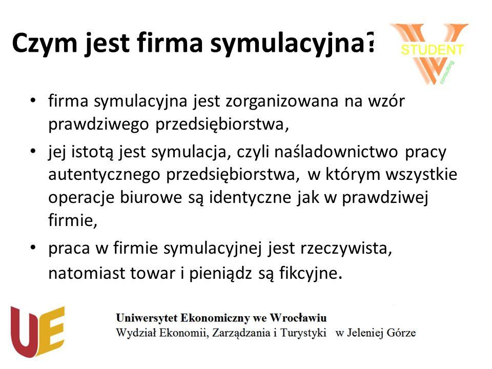Działalność WSFK mentoring ze strony przeszkolonych opiekunów naukowych, pracownicy – studenci UE we Wrocławiu Wydziału EZiT w Jeleniej Górze, działalność w ramach Polskiej Centrali Firm Symulacyjnych CENSYM, dopasowana struktura organizacyjna.