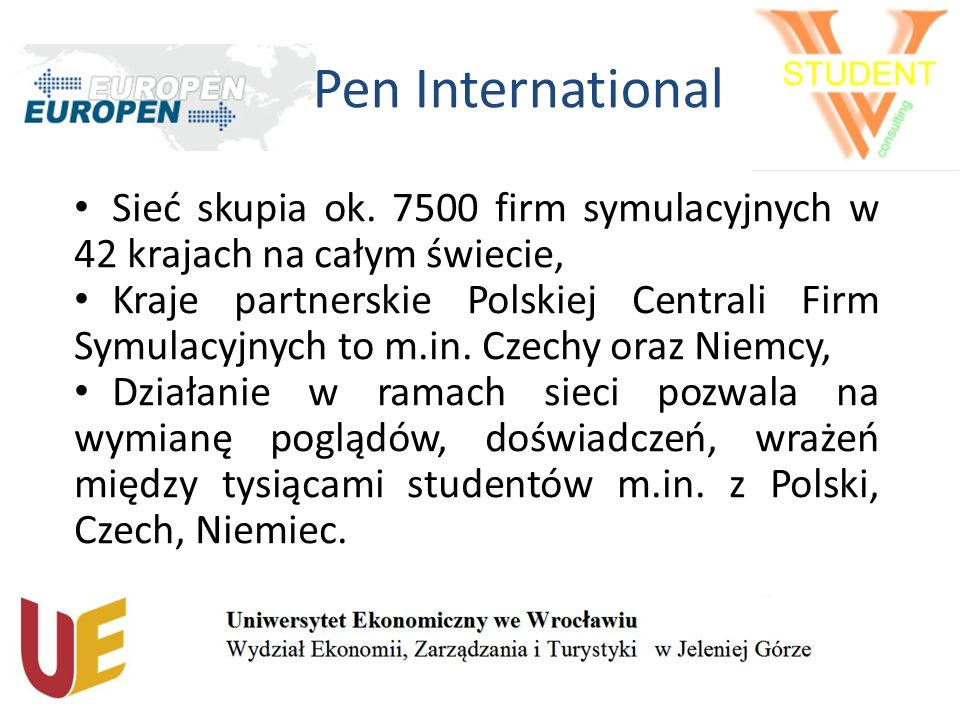 Pen International Sieć skupia ok.