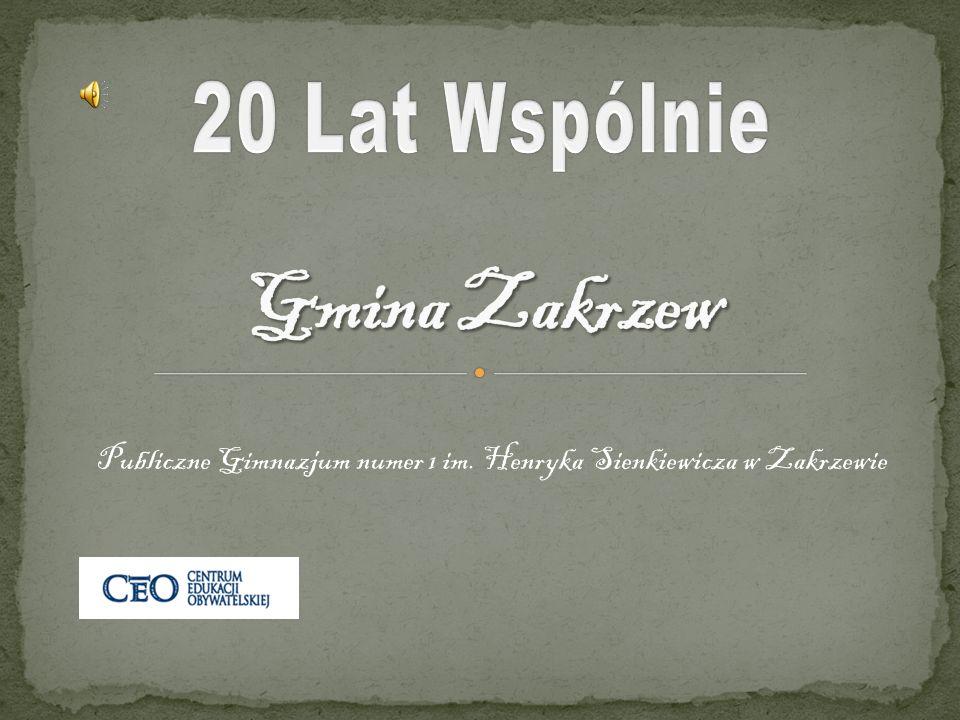 Publiczne Gimnazjum numer 1 im. Henryka Sienkiewicza w Zakrzewie