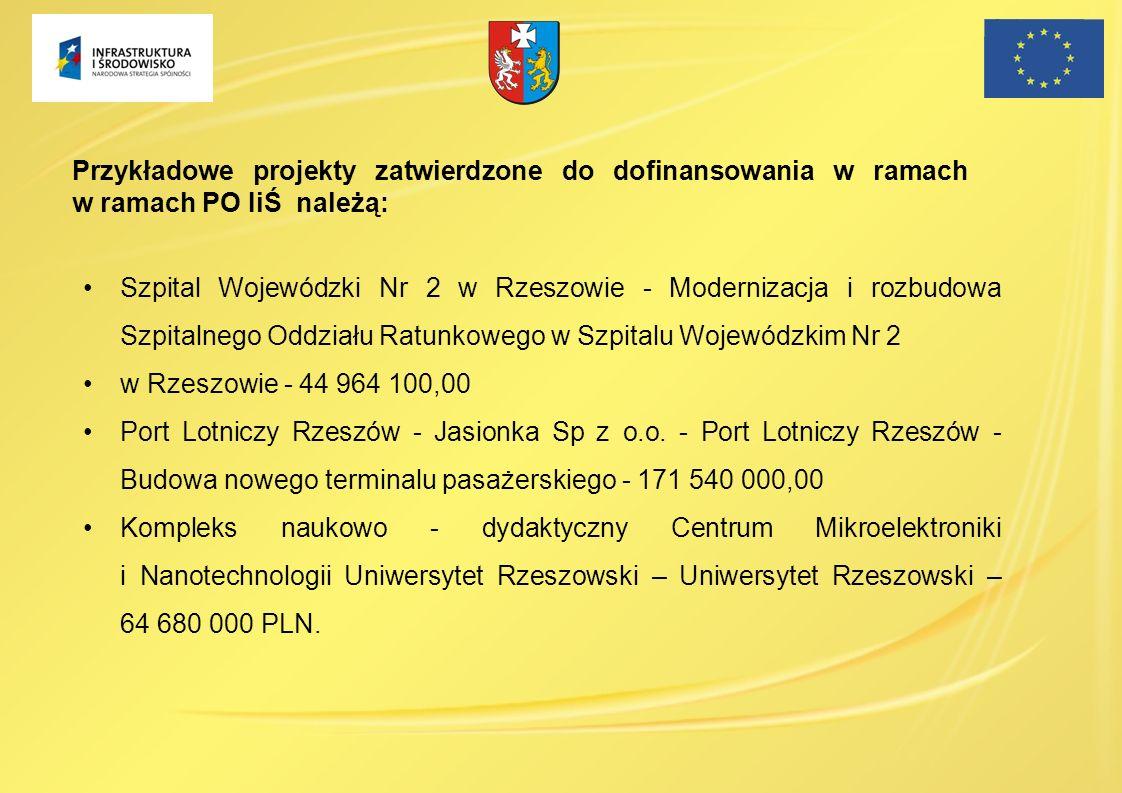 Szpital Wojewódzki Nr 2 w Rzeszowie - Modernizacja i rozbudowa Szpitalnego Oddziału Ratunkowego w Szpitalu Wojewódzkim Nr 2 w Rzeszowie - 44 964 100,0
