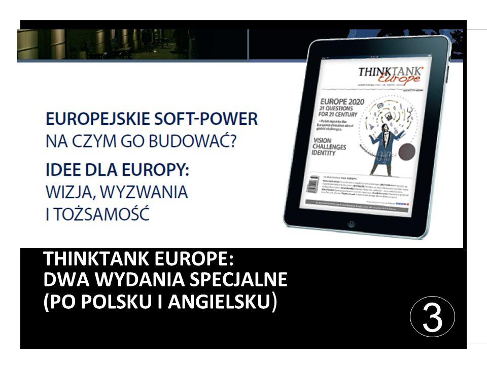 THINKTANK EUROPE: DWA WYDANIA SPECJALNE (PO POLSKU I ANGIELSKU ) 3